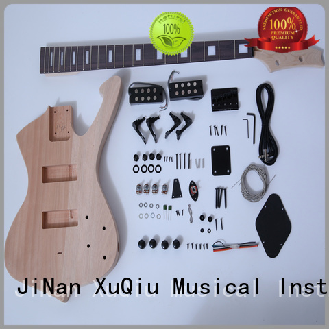 XuQiu custom acoustic bass kit woodwind instruments for kids
