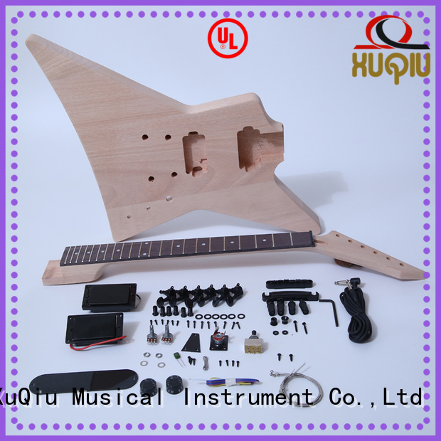 diy semi hollow body guitar kit manufacturer for beginner