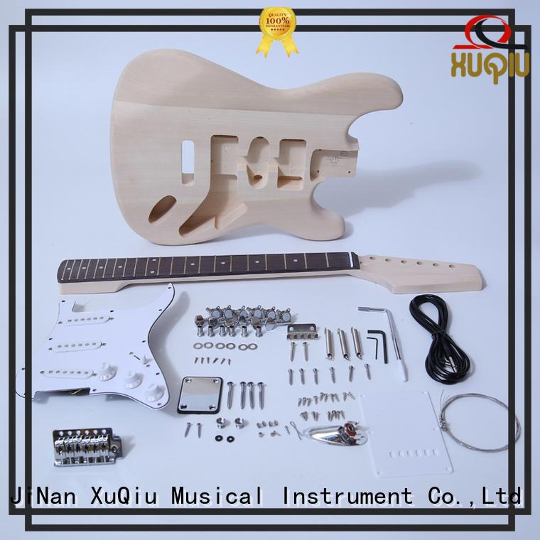 high end unfinished guitar kits manufacturer for performance