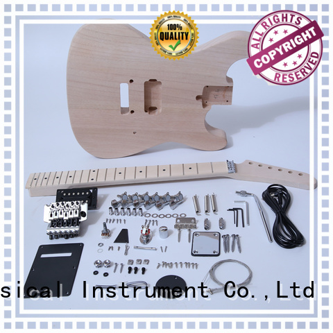 XuQiu unfinished telecaster guitar kits for sale for beginner