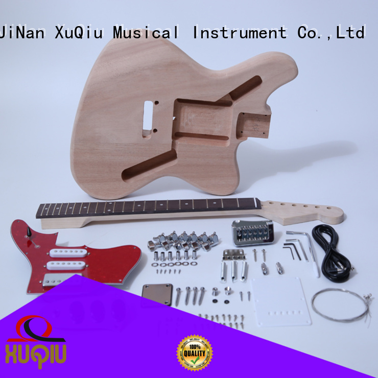 XuQiu sngk032 best les paul guitar kit supplier for beginner