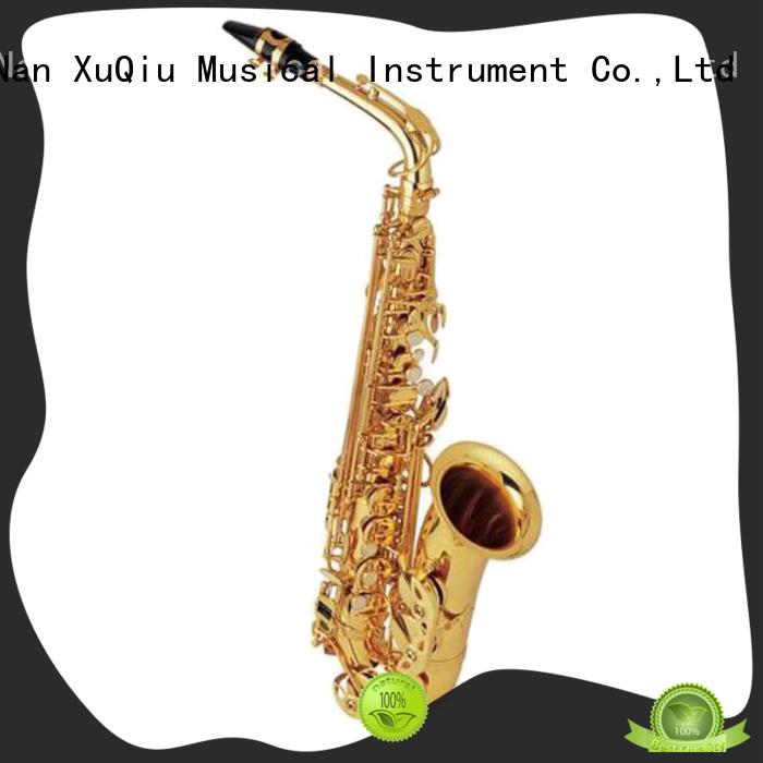 XuQiu custom professional alto saxophone manufacturer for beginner