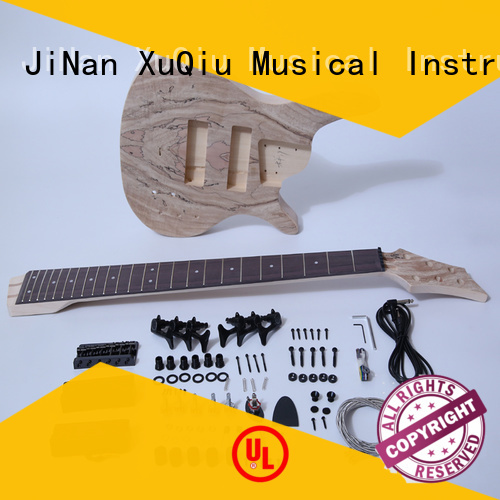 XuQiu snbk001 custom bass guitar kits woodwind instruments for student