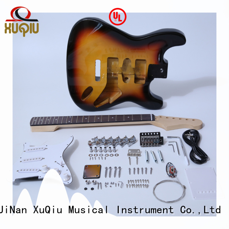 XuQiu high end solo guitar kits manufacturer for performance