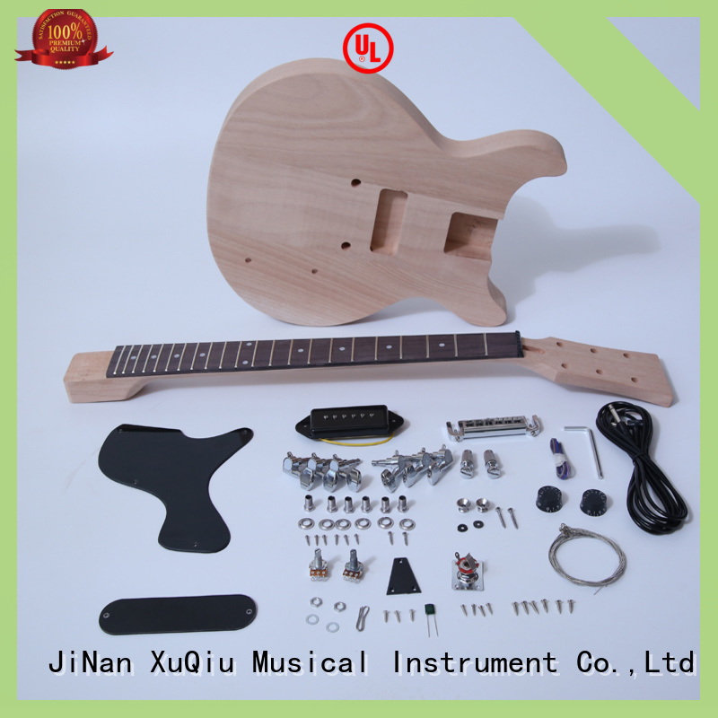 XuQiu 12 string electric guitar kit for sale for performance