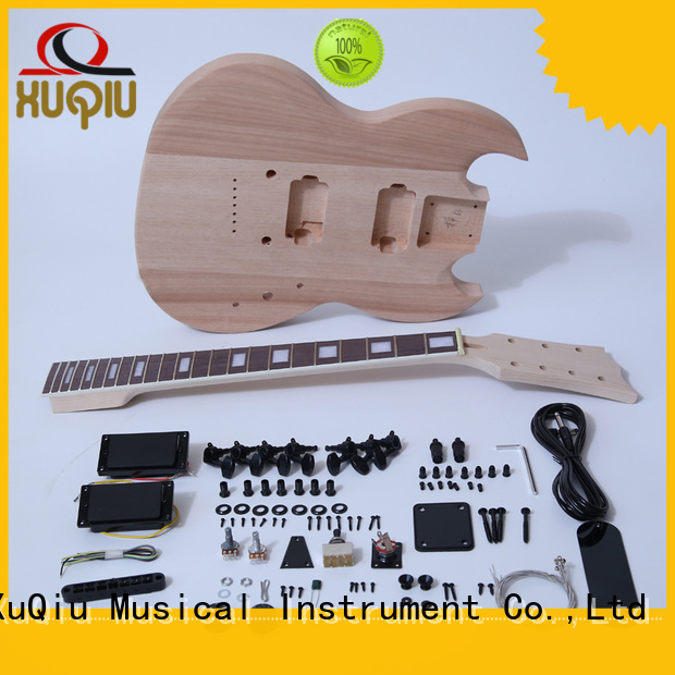 XuQiu custom left handed diy guitar kit supplier for kids