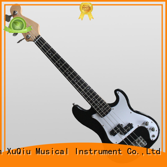 XuQiu electric short scale electric bass guitar sound for band