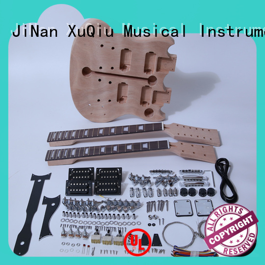XuQiu unfinished 12 string guitar kit for sale for beginner