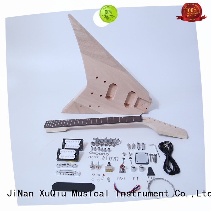XuQiu 12 string electric guitar kit supplier for performance