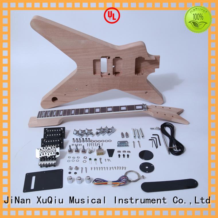 XuQiu custom left handed guitar kit manufacturer for concert