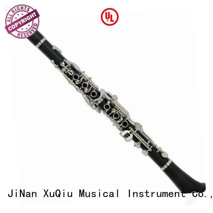 XuQiu wooden clarinet manufacturer for kids