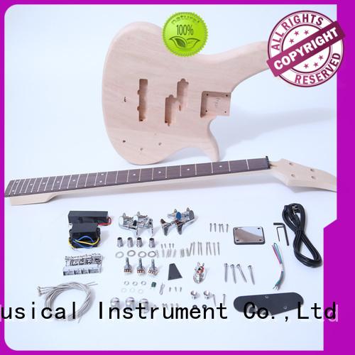 custom beginner bass guitar kits snbk015 for sale for beginner