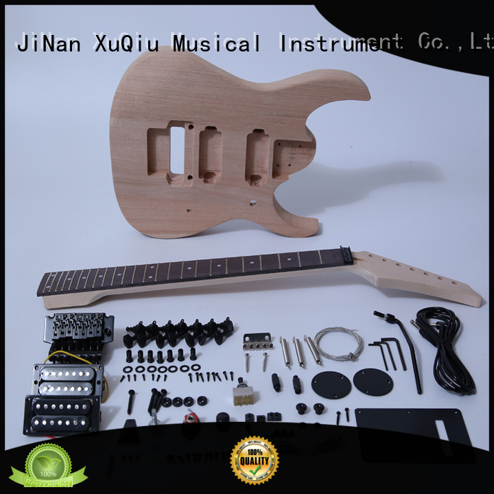 XuQiu high end diy 7 string guitar kit for sale for kids