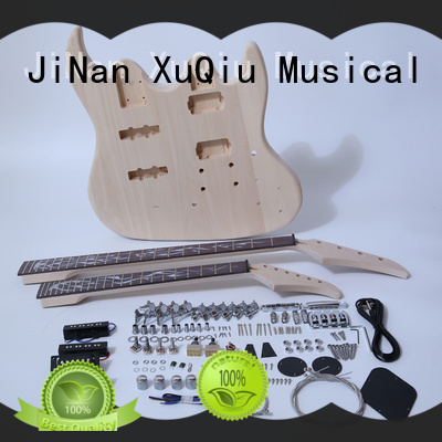 XuQiu unfinished 12 string electric guitar kit for sale for beginner