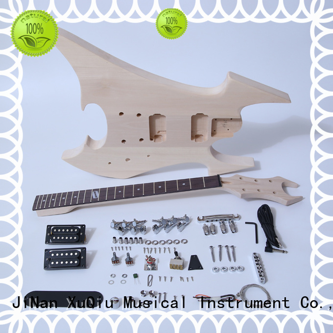 XuQiu quality 12 string electric guitar kit for sale for kids