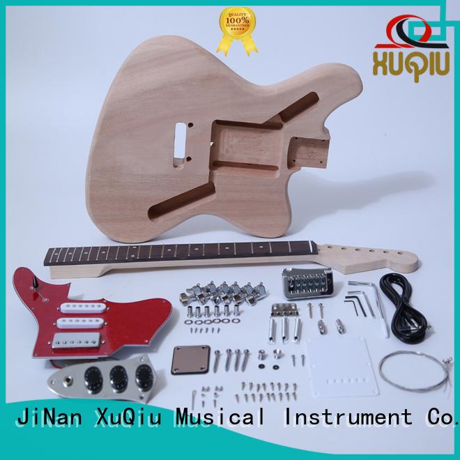 XuQiu diy diy guitar kits manufacturers supplier for kids