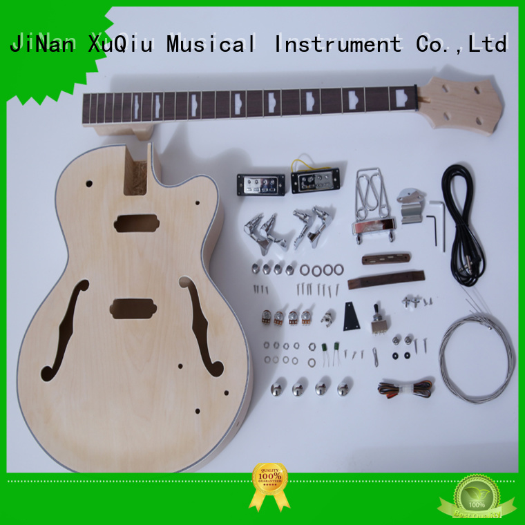 XuQiu neck through bass kit manufacturer for beginner