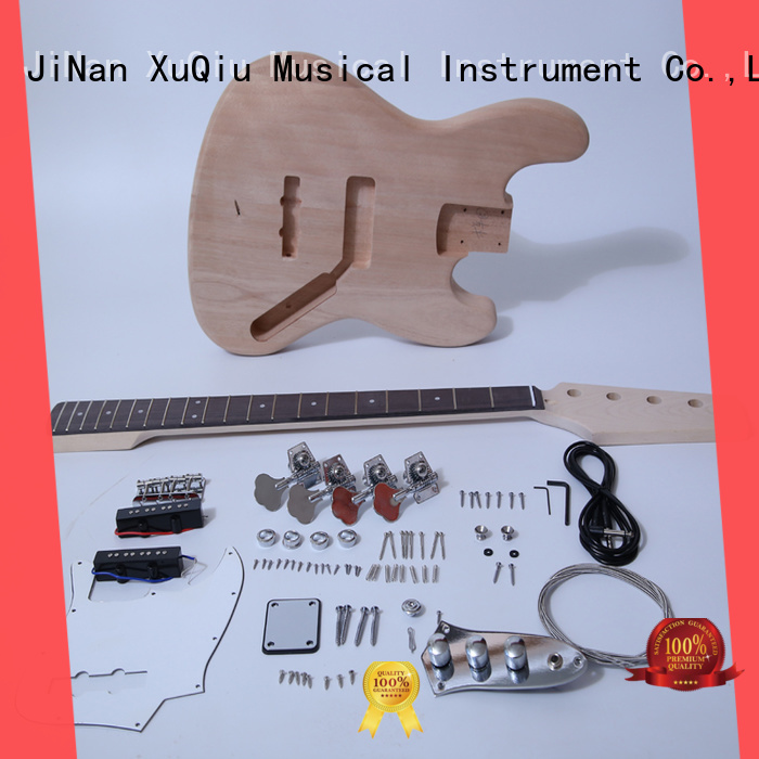 XuQiu custom fretless bass kit woodwind instruments for kids