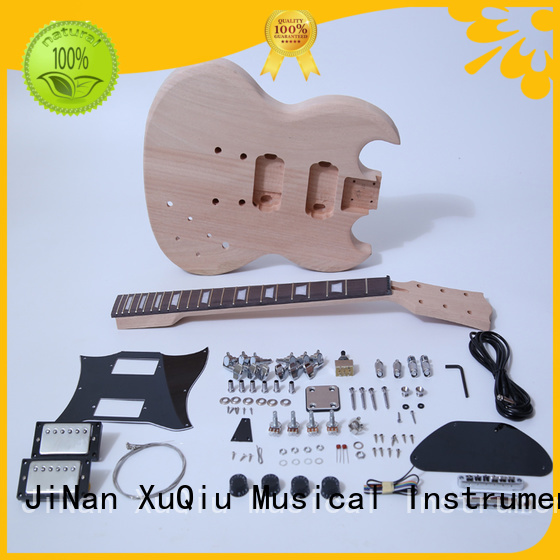 XuQiu unfinished guitar kits manufacturer for concert