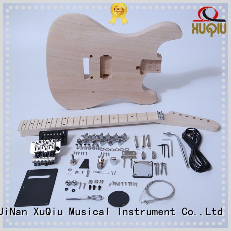 XuQiu premium diy telecaster guitar kit supplier for beginner