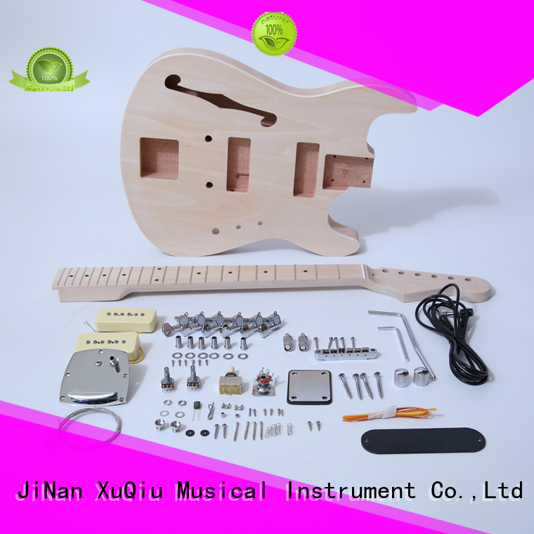 XuQiu rockabilly best build your own guitar kit for sale for beginner