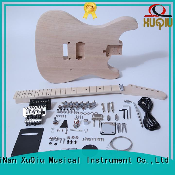 XuQiu sngk030 diy hollow body guitar kit manufacturer for performance