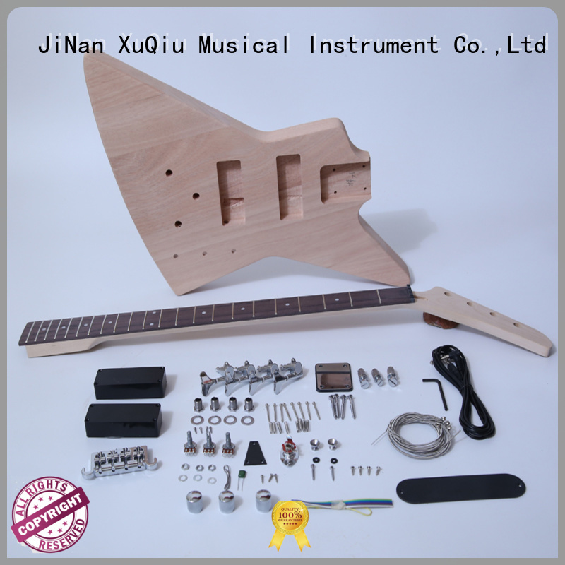 electric diy bass guitar kit for sale for beginner
