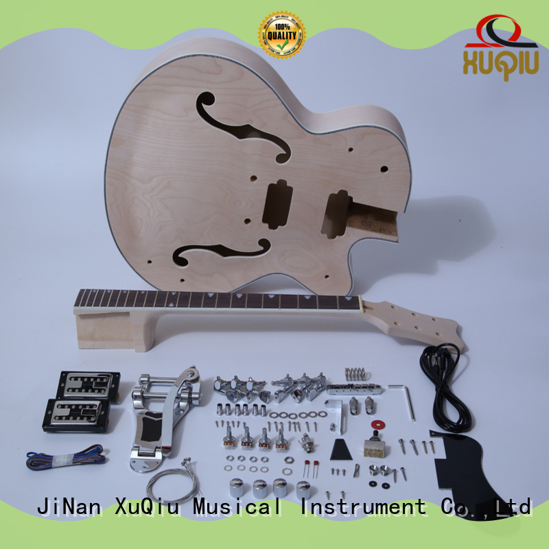 XuQiu custom unfinished guitar kit for sale for performance