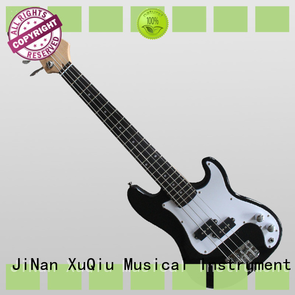 XuQiu electric short scale bass guitar sound for competition