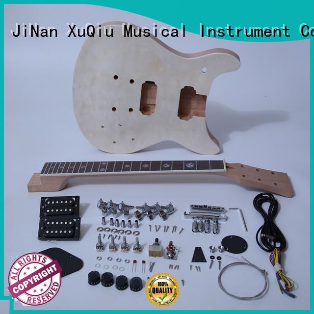 XuQiu diy 7 string guitar kit supplier for performance
