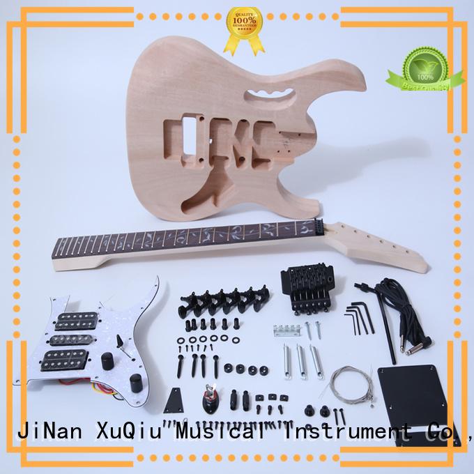 XuQiu custom electric guitar kit supplier for kids