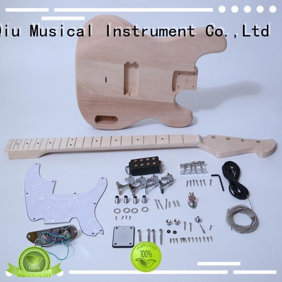 XuQiu diy hollow body bass kit manufacturer for kids