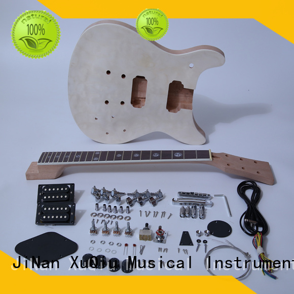 XuQiu quality make your own guitar kit for sale for performance