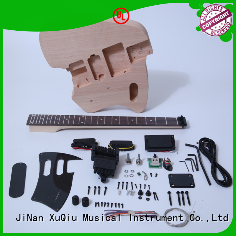 XuQiu custom precision guitar kits for sale for kids
