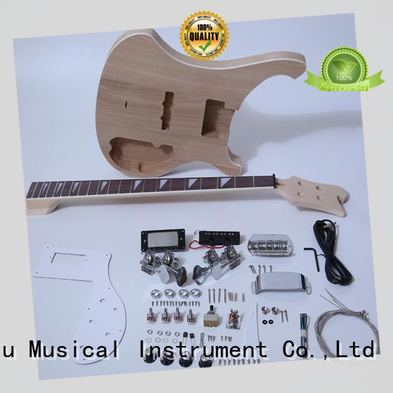 XuQiu electric telecaster bass kit manufacturer for kids