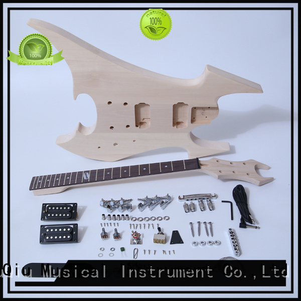 XuQiu custom 12 string guitar kit supplier for beginner