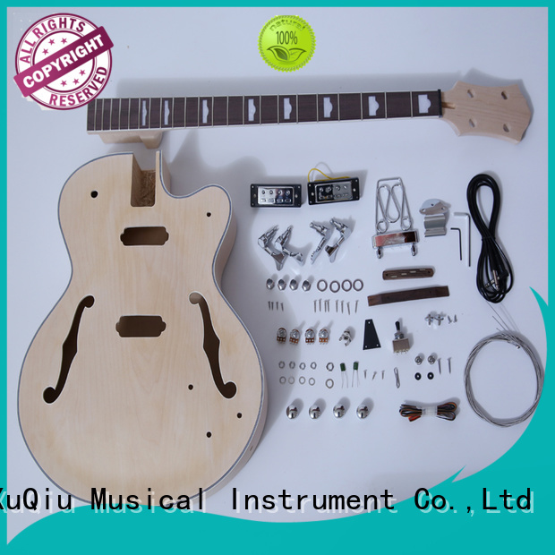 XuQiu Wholesale stingray bass guitar kit woodwind instruments for competition