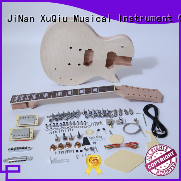 XuQiu diy guitar kits for sale supplier for beginner