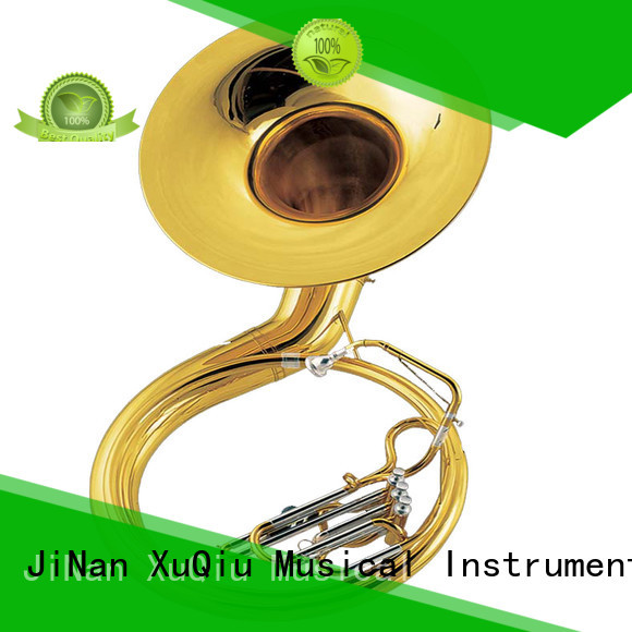 XuQiu best gold sousaphone for sale for beginner