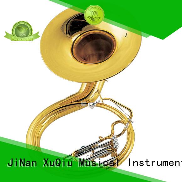 XuQiu best gold sousaphone for sale for beginner