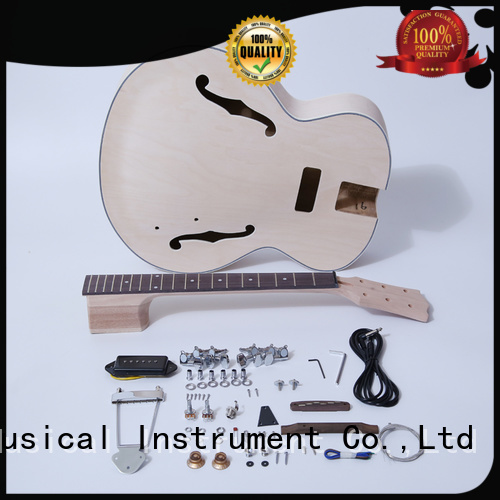 premium unfinished guitar kit for sale for concert