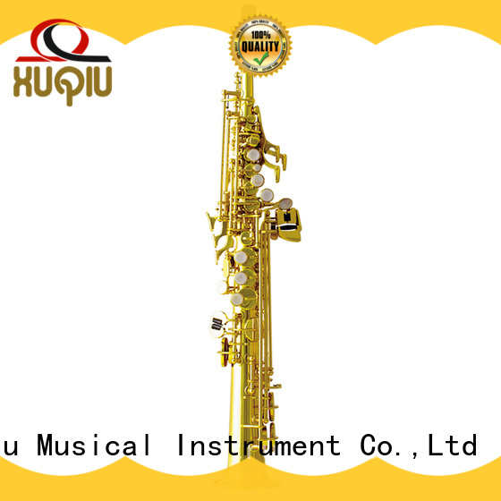 XuQiu professional soprano saxophone for sale manufacturer for concert