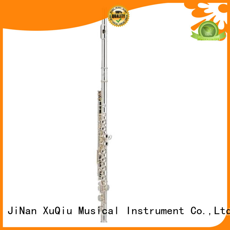 XuQiu high end silver flute woodwind for concert