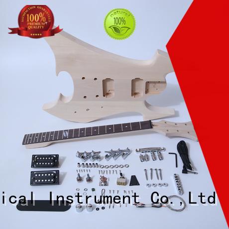 XuQiu diy telecaster guitar kit supplier for beginner