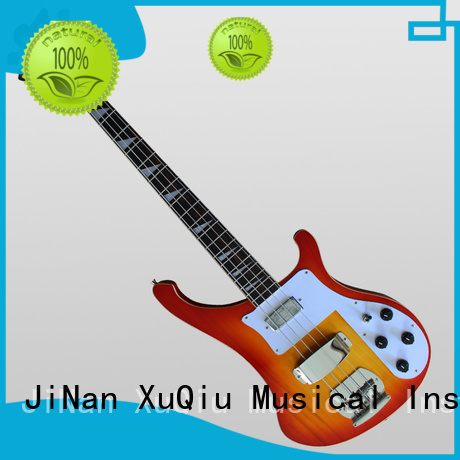 XuQiu custom made electric bass instrument sound for competition