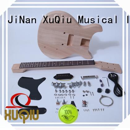 unfinished diy 7 string guitar kit supplier for performance