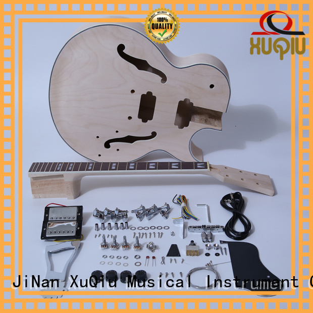 XuQiu best double neck guitar kit for sale for kids
