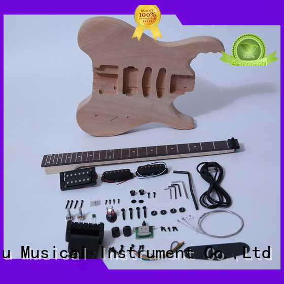 XuQiu diy unfinished acoustic guitar kit manufacturer for kids
