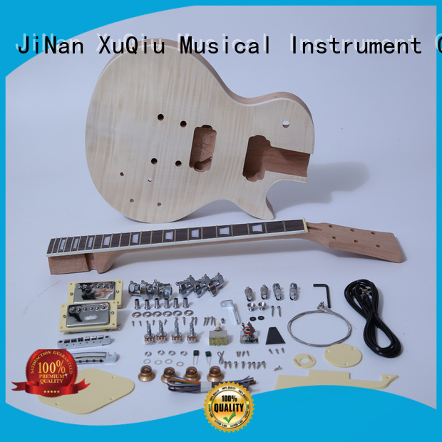 XuQiu unfinished guitar kits manufacturer for concert