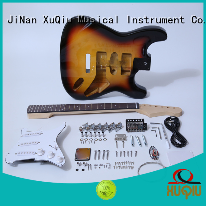 XuQiu diy unfinished guitar kits supplier for concert